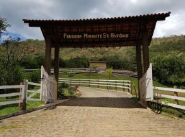 Pousada Mirante Santo Antônio, Rio Prêto (Rio Prêto yakınında)