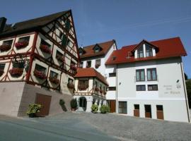 Gasthof Hotel Zum Hirsch***S, Kirchen (Frankenhofen yakınında)
