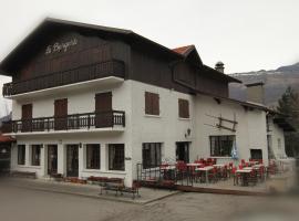 Hotel La Bergerie, Aigueblanche (рядом с городом Ла-Лешер)