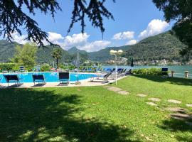 Lugano lake's luxury residence