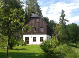 Ferienwohnung Erzgebirge, Pockau (Lengefeld yakınında)