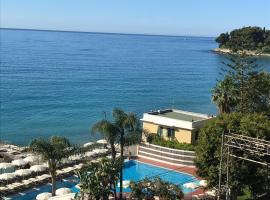 Villa sul mare, Bordighera (Berdekatan Ospedaletti)