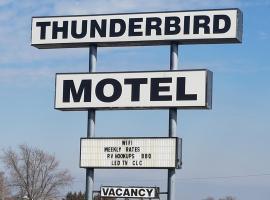 Thunderbird Motel, Marysville (in de buurt van Beatrice)