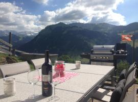 Ferienwohnung mit traumhafter Weitsicht auf 1400 m, Sankt Stephan (Matten yakınında)
