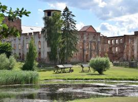 Ferienwohnung Schlossidylle, Dargun (Altbauhof yakınında)