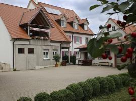 Ferienwohnung Bickel, Absberg (Gräfensteinberg yakınında)