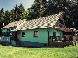 Ubytovani u Cibu, Zubčice (Zahořánky yakınında)
