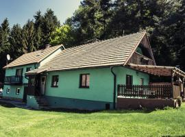 Ubytovani u Cibu, Zubčice (Věžovatá Pláně yakınında)