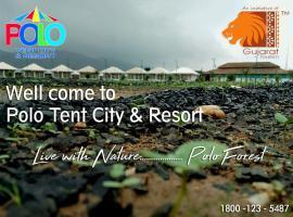 Polo Tent City, Vijayanagar (рядом с городом Kherwāra)