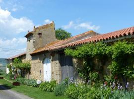 la maison de roussi, Nonette (рядом с городом Mareugheol)