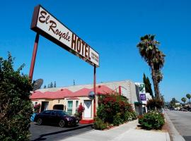 El Royale Hotel - Near Universal Studios Hollywood, Лос-Анджелес