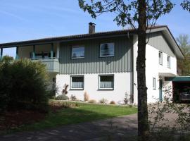 helles Appartement im Allgäu