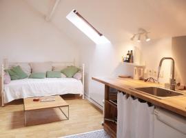 Le studio, Moret-sur-Loing (рядом с городом La Thurelle)