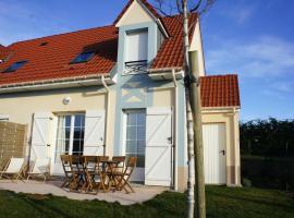 Maison des coteaux et sa cabine de plage, Криэль-сюр-Мер (рядом с городом Criel-Plage)
