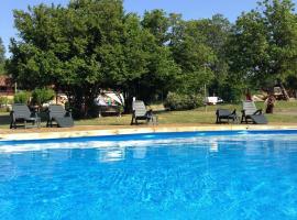 Camping de Mepillat***, Saint-Nizier-le-Bouchoux (рядом с городом Mantenay-Montlin)
