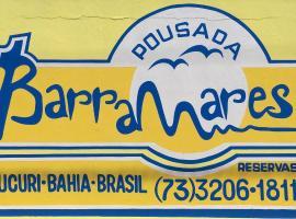 Pousada Barra Mares, Mucuri (Baronêsa yakınında)