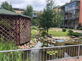 Charming apartment in the greenery+FREE parking, Vilnius (Nær Vilnius)