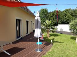 Studio 13 rue du sapin bleu, Colleville-Montgomery (рядом с городом Blainville-sur-Orne)