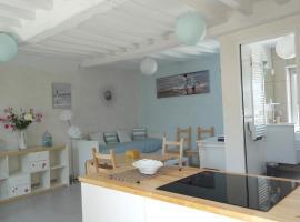 50 m2 de charme au coeur des plaisir de la côte, Люк-сюр-Мер (рядом с городом Langrune-sur-Mer)