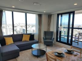 Great location- City Centre- Opposite Sky City- Massive view