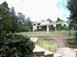 Gran Chalet frente al lago, Villa Parque Siquiman (Santa María yakınında)