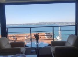 Unique full sea view apartment, Gürpınar (in de buurt van Buyukcekmece)