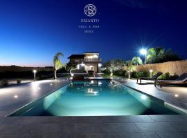 Villa Emanto con piscina