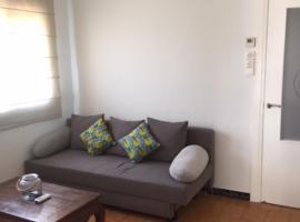 Bright single room