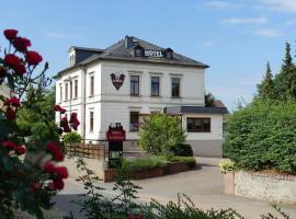 Hotel Am Rittergut, Frankenberg (Hainichen yakınında)