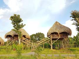 Sunny Field Eco Stilt House, Cat Tien (Near Cat Tien National Park)