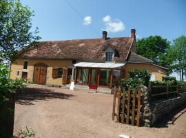 "Gîte ""La Loire"", Liernais (рядом с городом Мон-Сен-Жан)"
