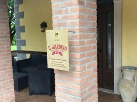 hotel ristorante il giardino, Cagnano Amiterno (Montereale yakınında)