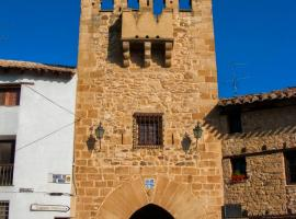 Portal de San Antonio, Rubielos de Mora (Cortes de Arenoso yakınında)
