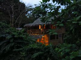 Tangara Ecolodge, Mompiche (Zapotal yakınında)