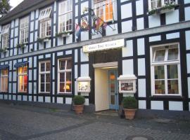 Hotel Drei Kronen, Tecklenburg (Lengerich yakınında)