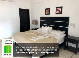 Hotel & Suites Mo Sak, Tapachula (рядом с городом Talismán)