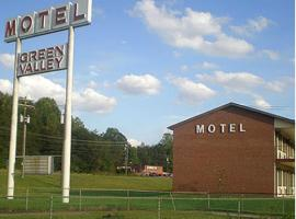 Green Valley Motel Winston Salem, Winston-Salem (in de buurt van Bethania Station)