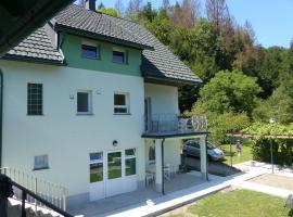 Riverside garden apartment Three Springs/Tri Zvira, Zamost (рядом с городом Podgora Turkovska)