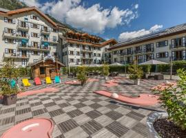 Résidence & Spa Vallorcine Mont-Blanc, Валлорсин (рядом с городом Le Couteray)