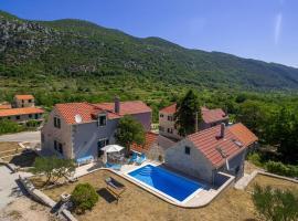 Villa Roglic with pool in Dalmatian Hinterland, Zagvozd (рядом с городом Donje Rašćane)