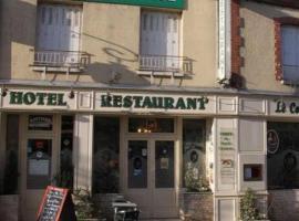 Hôtel Le Commerce, Bellegarde-du-Loiret (рядом с городом Combreux)