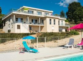 Villa Fontaine, Barjac (рядом с городом Saint-Privat-de-Champclos)