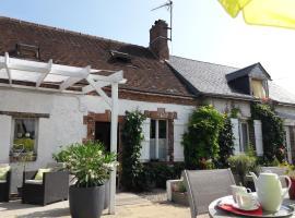 Chez Liliane B&B, Langey (рядом с городом Courtalain)