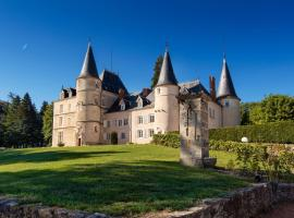 Château de St Alyre, Sanssat (рядом с городом Montaigu-le-Blin)
