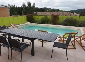 La Cesse Villa avec piscine, Биз-Минервуа (рядом с городом Ажель)
