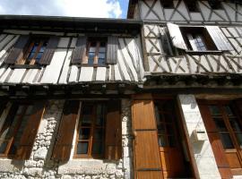L' Ancien Relais de Poste, Casteljaloux (рядом с городом Anzex)