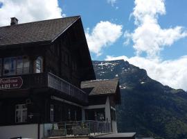 Berggasthaus Haldi, Haldi bei Schattdorf (Unterschächen yakınında)