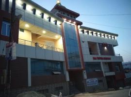Hotel maa tripura residency, Pithorāgarh (рядом с городом Gangolihāt)