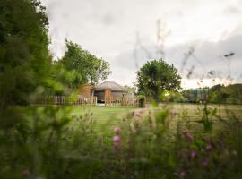 The Yurt at Hollands Farmhouse, Дорчестер (рядом с городом Woodsford)