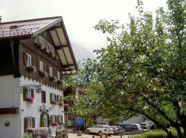 Hotel Bären, Bad Hindelang (Hinterstein yakınında)